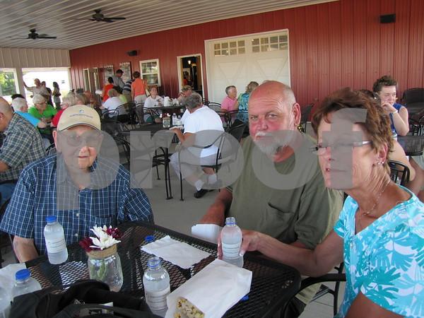 Harold, Jim, and Deb Harvey