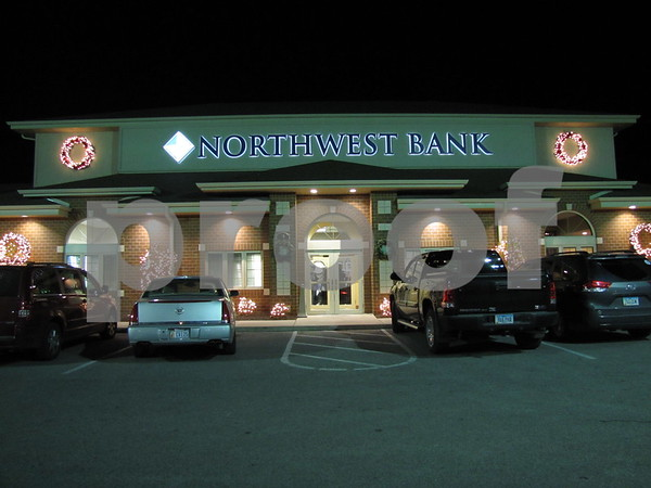 Northwest Bank in Fort Dodge is all decked out for the holidays and their open house.