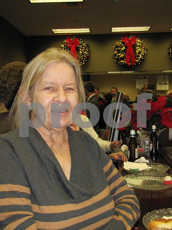 Karen Grebner attended Northwest Bank's holiday open house.