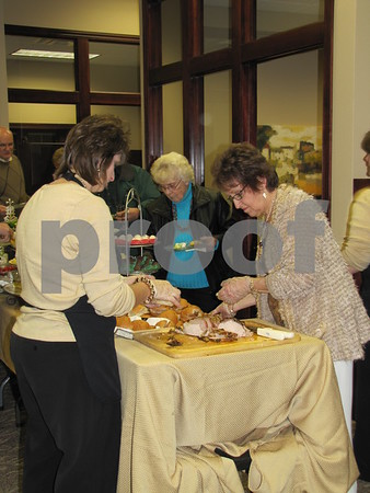 Tea Thyme catered a delicious meal at Northwest Bank's holiday open house.