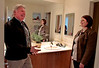 Realtor Antoine Pirson shows a condominium to Kalyn Farris in Oakland, Calif., on April 8th,  2011. Story about <br /> condo sales.