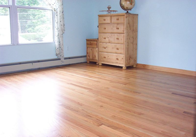 Installed wood floor.  Actually built entire room.