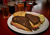 The Fredericksburg Brewing Company's self-proclaimed 'Best Reuben in Town'. I heartily agree! They have a great selection of microbrews as well.