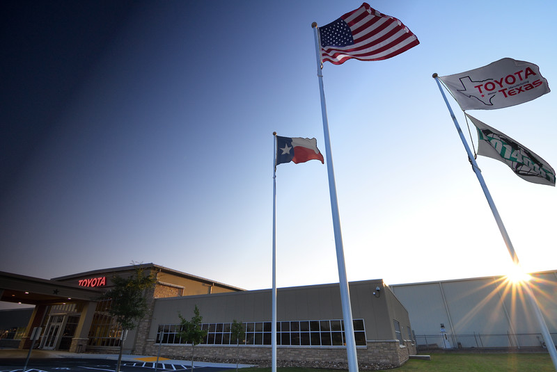 A new day dawns for the Toyota Texas plant.