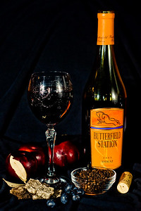 """Butterfield Station's 2005 Shiraz is one the wines featured at our tasting this Saturday. From the back label, """"2005 Shiraz Butterfield Station, final destination for the 1851 Overland Express, celebrates California's new treasure, one to rival the Gold Rush. Those hearty pioneers discovered a richer treasure in California's robust vineyards. Rooted in this tradition, Butterfield Station Shiraz brings forward the complexity of ripe blueberry and plum, spiced with oak and black pepper."""" See you Saturday!"""