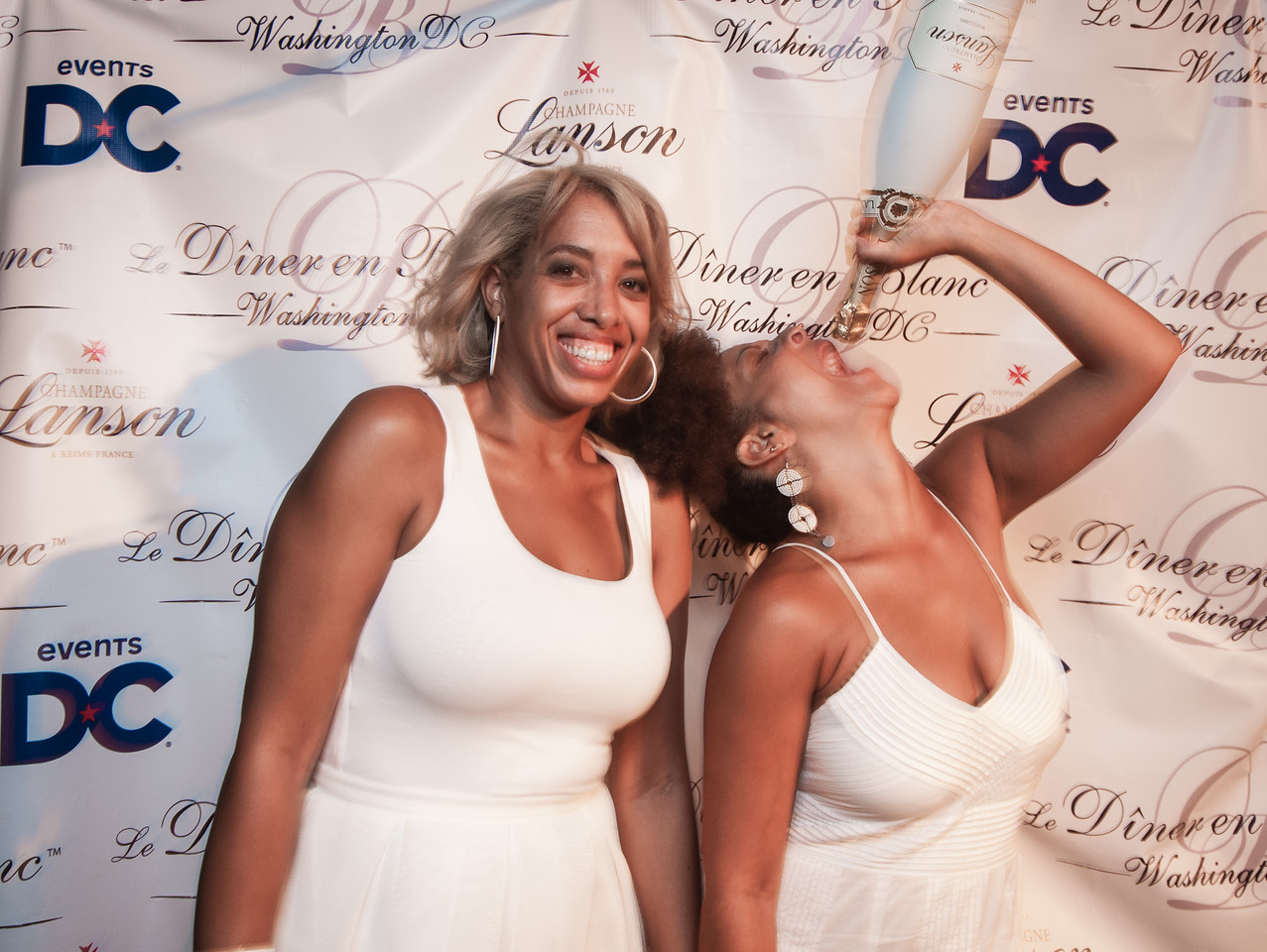 Diner en Blanc DC 2015 Photo Booth