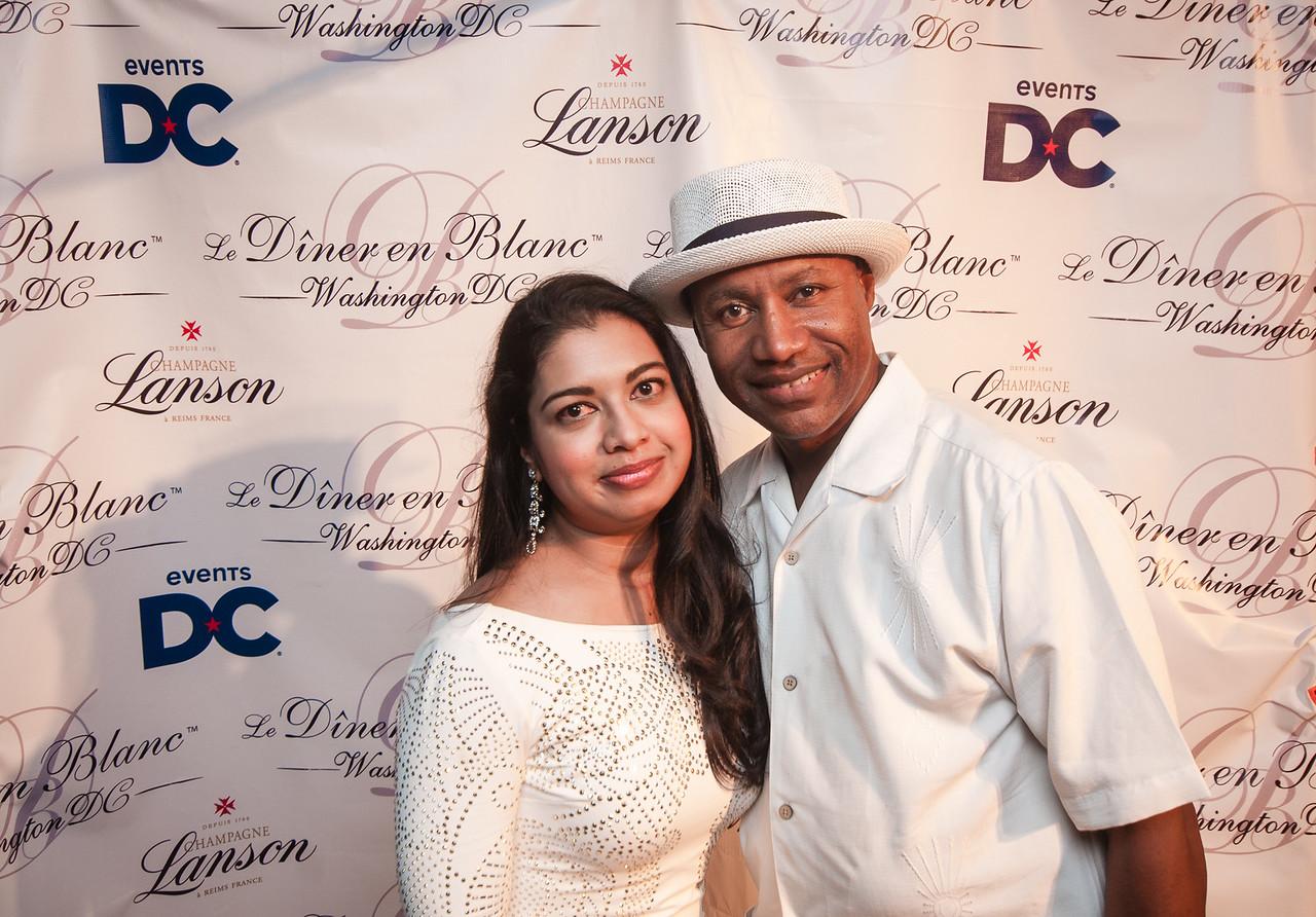 Diner en Blanc DC 2015 Photo Booth