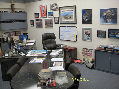 Ian's old office
