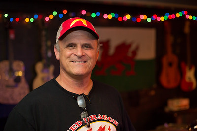 Keith Sykes, Red Dragon Listening Room