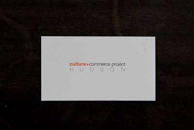 Culture+Commerce Project HUDSON