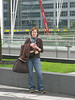 Chirs at the Munich airport.