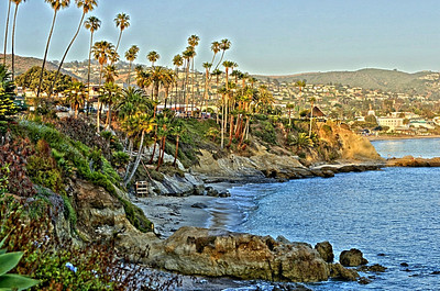 IMG_4596_5_4_tonemapped Laguna Beach Shore City