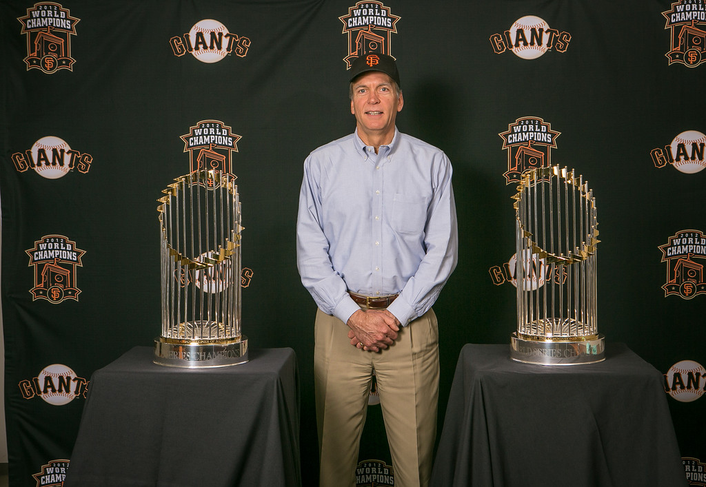 The Giant's trophies from 2010 & 2012 visit Diamond Foods on Tuesday, December 11th, 2012.