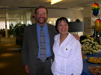 Dick's Retirement Party from the World Bank, June 29 2004