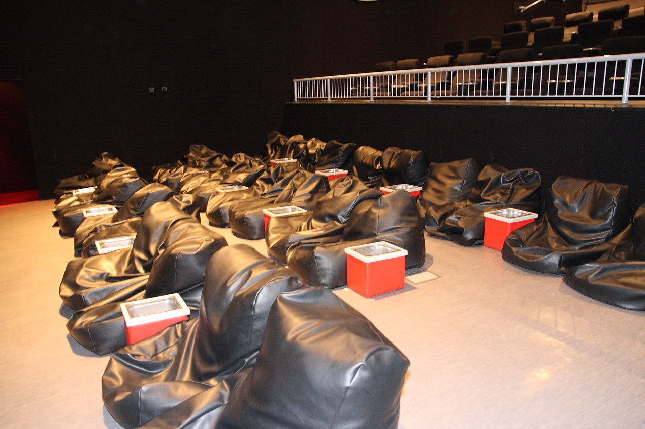 Beanbags and Sofa's Vue Cinema Thurrock