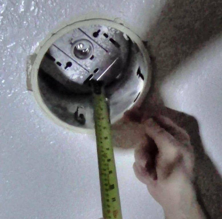 Measure the height of the ring housing to at least 4.5 inches