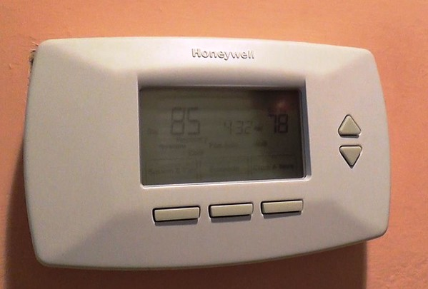 Installation of the Honeywell Electric Thermostat is done