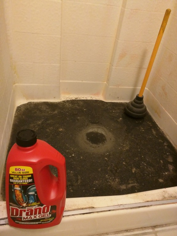Waiting for Drano Max Gel to work