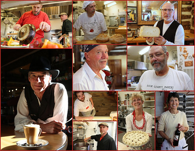 The Door County Bakery's talented team.