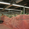 Anti-Static Poly over Critical Equipment - Duct Cleaning Mold Remediation