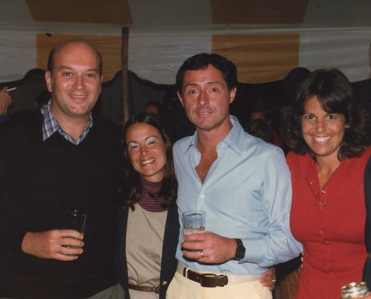 Jerry Miller, Timmy Poh, Jack  & Denise Conlon, 9/82
