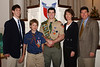 Angie and David Short with their sons, Chas (Eagle Scout), Seth and Cam (Eagle Scout).