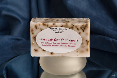 Lavender Got your Goat  soap