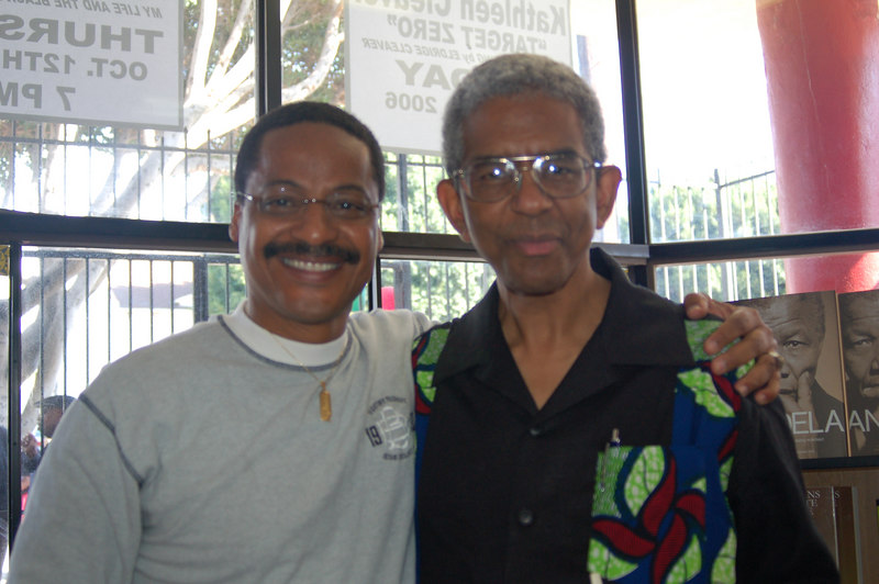 Author Firpo Carr and James Fugate, Eso Won co-founder.