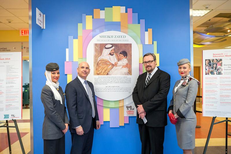 Etihad Airways at Children's National Hospital
