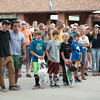 The Park City community gathered on Sept. 12 to support Sam Jackenthal.