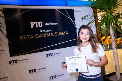 FIU Beta Gamma Sigma Ceremony 2019-123