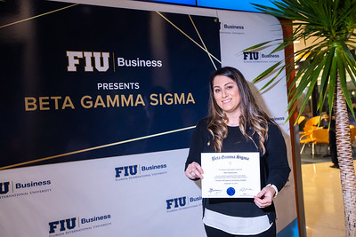FIU Beta Gamma Sigma Ceremony 2019-121