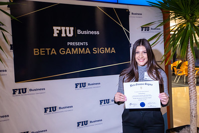 FIU Beta Gamma Sigma Ceremony 2019-120
