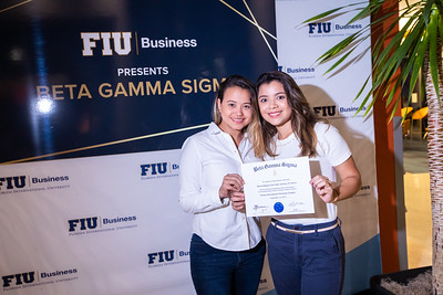 FIU Beta Gamma Sigma Ceremony 2019-124