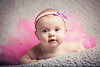 3mo old Stell has her pictures taken at Ben Pancoast Photography's studio in Saint Joseph Michigan.