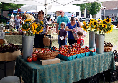 Farmers Market in Bennington. 080316