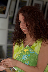 Christine Bove - our Feng Shui consultant.