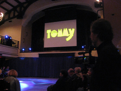 <font size = 4>Feb 2009 - <br>The Tommy Play<br>Shot for Bill Metzger