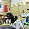 May 2, 2014 - LTG Michael Ferriter spends the morning training Mordern Army Combatives Program at Briant Wells Fieldhouse Gym, Fort Benning, GA.  Photo by John David Helms.