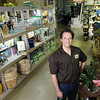 Richard at Fifth Season Gardening Co. in Carrboro, NC, Friday, Jan. 11, 2012