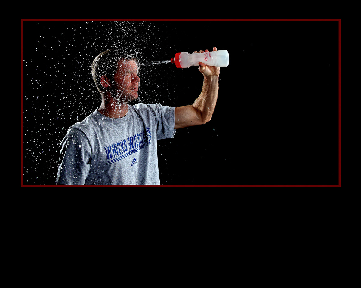 Sharing a little before and after view on MIke's splashy shot...