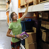 "Fiona Simon, founder of Fiona's Granola, looks over her products in the warehouse in Longmont.<br /> For more photos of Fiona's, go to  <a href=""http://www.dailycamera.com"">http://www.dailycamera.com</a>.<br />  Cliff Grassmick / July 19, 2012"