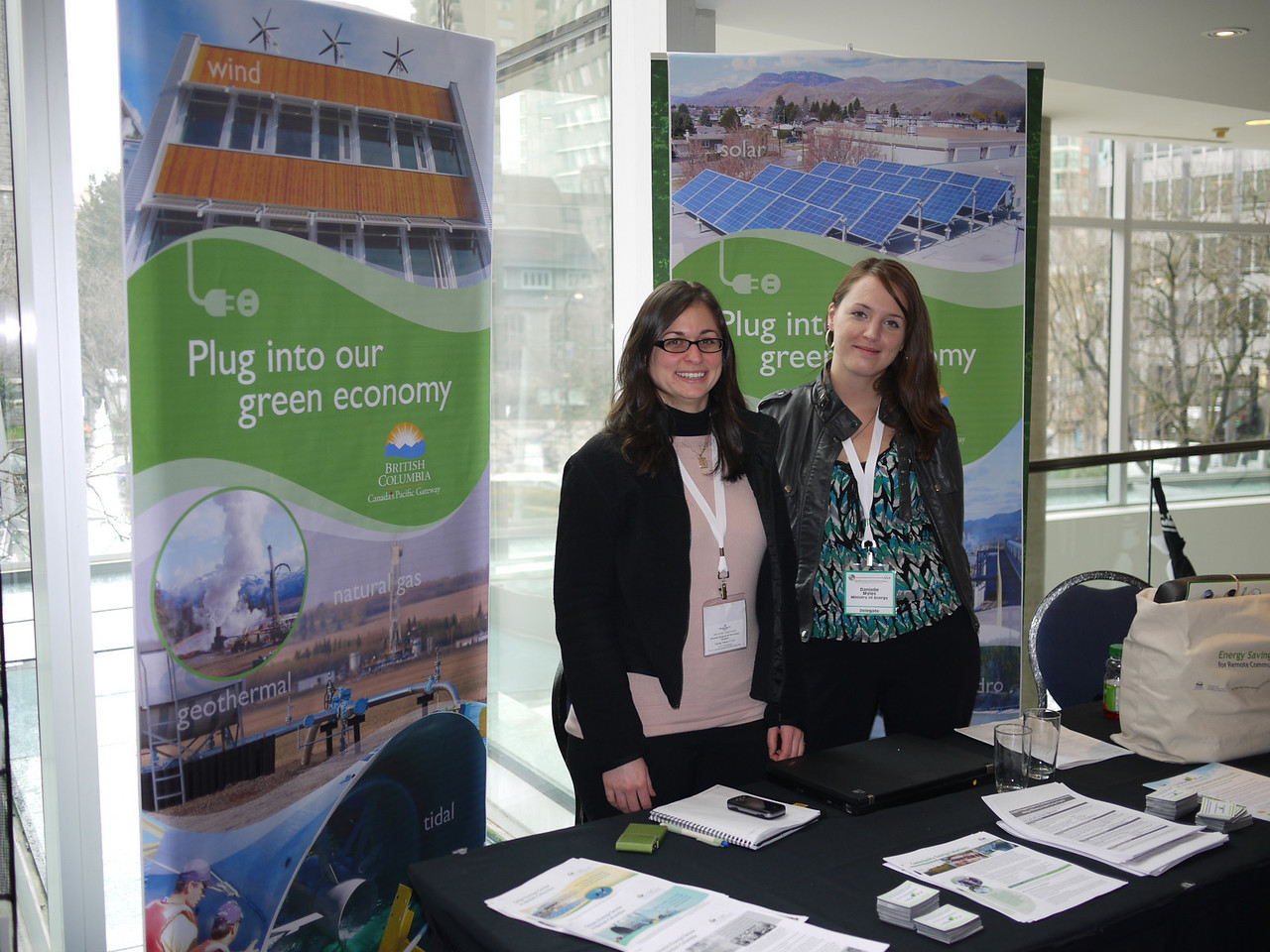 Christina Ianniciello and Danielle Myles - MENER Community Energy Solutions Team