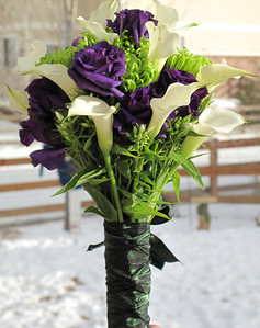 January 2010 - Brides bouquet