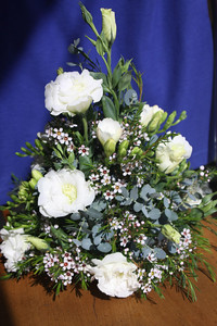 April 2010 Wedding - alter piece