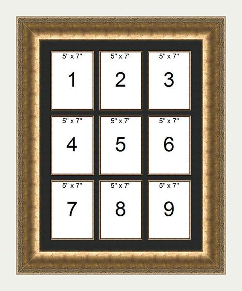 9 Up Frame 20x26