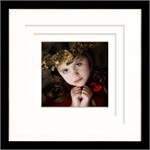In stock 20x20 Frame with triple matting - can be in a collection of four with a variety of size images