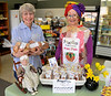 Frieda Froodles and Granny at the Gluten Free Zone, Loveland, CO