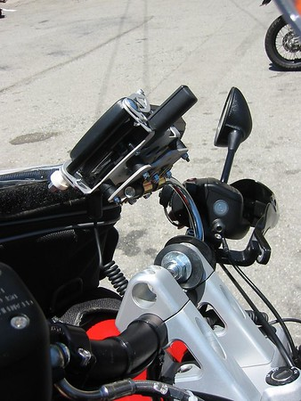 GPS Mounts for the KTM's