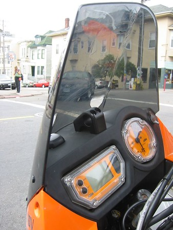 KTM dash board GPS